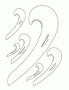 french_curve printables