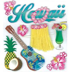 Jolee's Boutique Stickers -- Hawaii