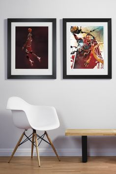 Image of RareInk NBA Art Prints (wife would never allow it..maybe for the man cave?)