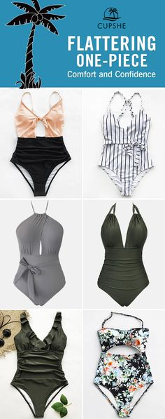 Feeling tired and craving for a poolside party or a beach leave? Pack these fascinating one-pieces. No matter swim in the water, play on the sand or walk along the beach, they're awesome. FREE shipping. Check now.