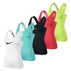#Nike Pro Core Fitted Tank -- Dri-FIT poly spandex fabrication helps keep you cool and allows you to move freely. Get it here >> http://www.tennisexpress.com/nike-womens-pro-core-fitted-top-44215 #TennisExpress