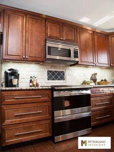 Wonderful McFarland Interiors Interior Design Companies, Wood Cabinets, Microwave, Kitchen  Designs, Paint Colors