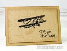 Sky is the Limit Birthday Card with Stampin' Up! Demonstrator Angie Juda