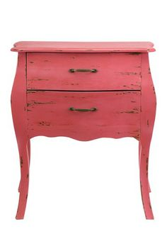 Bloom 2 Drawer Pink Chest by Imax on @HauteLook