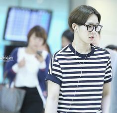 Nam tae yhun / winner / at taiwan airport / 29-04-14
