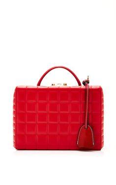 Grace Small Box In Lambskin by Mark Cross for Preorder on Moda Operandi