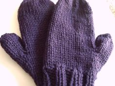 This is mitten pattern I wrote up for my knitting class this week. They came out nicely. They are a quick enough project that you could knit them and still have time to wear them before winter is o…
