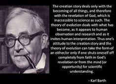 Barth on Evolution via Relatably.com