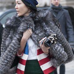 Day 4 Street Style at Paris Fashion Week