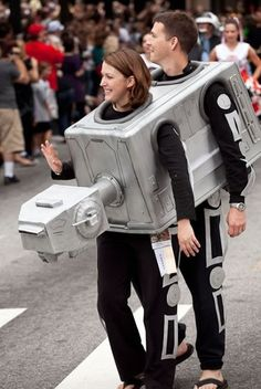 at at star wars costume. I want to do this with DJ! :)