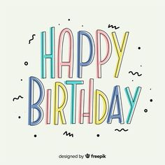 Happy Cake Day, Happy B Day, Happy Birthday Greetings, Birthday Wishes, Kitty Drawing, Rose Frame, Birthday Images, Birthdays, Lettering