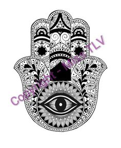 This is our new #Hamsa design - soon to be available for purchase on shirts, hats, sundresses etc. Do you like it?