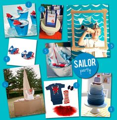 boys sailor party | Need ideas for some fun activities? How about creating your own ...