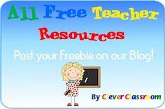 All Free Teacher Resources Blog, Free TpT downloads. http://allfreeteacherresources.blogspot.com.au/p/free-tpt-resources.html