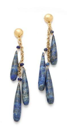 blue earrings :)