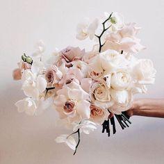Wedding Bridesmaid Bouquets, White Wedding Bouquets, Bride Bouquets, Floral Wedding, Orchid Bridal Bouquets, Modern Wedding Flowers, Wedding Dress, Flower Girl Bouquet, Flower Bouquet Wedding