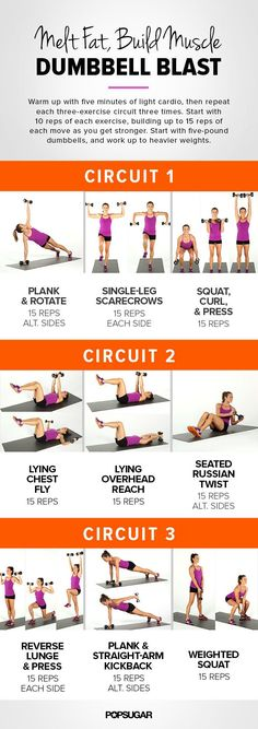 This short Bum bell routine is a great home workout! Burn fat build muscle, use weight amount according to your ability. Put some music on& The post Maximize Your Workout Results With Our Printable Dumbbell Workout appeared first on Shane Carlson Fitness. Fitness Workouts, Sport Fitness, Body Fitness, Fitness Motivation, Health Fitness, Circuit Workouts, Fitness Shirts, Fitness Circuit, Health Exercise