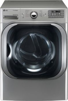 LG DLEX8000V SteamDryer 9.0 Cu. Ft. Graphite Steel Stackable With Steam Cycle Electric Front Load Dryer Upfront Electronic Control Panel With Dual LED Display. Precise Temperature Control With Variable Heat Souce. 14 Drying Programs. Dimensions (WHD): 29 X 40 4/5 X 32 3/10.