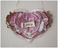 Paperisydän * Paper heart DIY