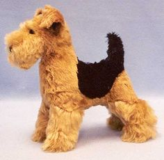 "Lakeland Terrier Puppies | ... for making an 11"" high mohair Airedale, Welsh, or Lakeland Terrier"