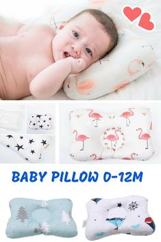 head shaping infant pillow