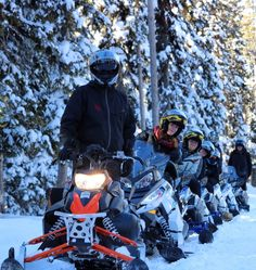 Snowmobiling, horseback riding, snowga, ice fishing, skiing, hockey, sledding, fat biking, Snow Cat tours - these are some of the activities that make The Ranch at Rock Creek the ultimate winter destination for travel with friends. Meet me in Montana!  Photo by Housekeeping Supervisor Zachary Jones