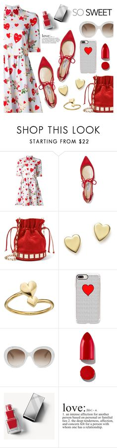 So Sweet by dressedbyrose on Polyvore featuring VIVETTA, Jimmy Choo, Tomasini, Bloomingdale's, Alex and Ani, Gucci, Casetify, Rodin, Burberry and WALL