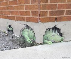 corner dragon by david Zinn