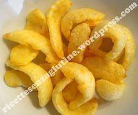 Patatine soffiate a microonde