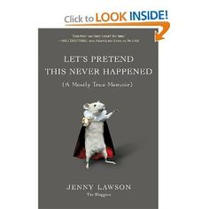 can't wait to get this and read it on the kindle app on my iPad tonight. Love @Jennifer Lawson (the Bloggess!)