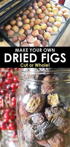 Distinctive Gifts Mean Long Lasting Recollections Make Your Own Dried Figs And Learn What To Do With Them In This Delicious Dehydrated Fig Recipe Fig Recipes, Canning Recipes, Raw Food Recipes, Food Tips, Food Ideas, Dried Figs, Fresh Figs, Dehydrated Food, Dehydrated Vegetables