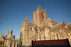 The historic Christchurch Cathedral in the heart of Viking Dublin - follow our link to find out what else you can do in Dublin! http://www.tourireland.com/blog/?article=40