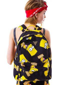 Joyrich Bart Face Backpack. Buy it at Dolls Kill.com!
