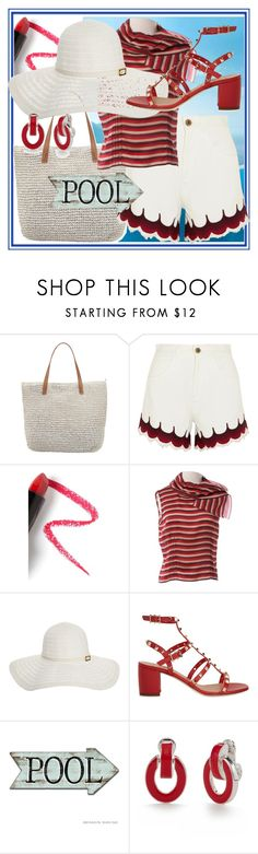 """We love Summer"" by dmg555 ❤ liked on Polyvore featuring Seafolly, Chloé, Lapcos, Miu Miu, Melissa Odabash, Valentino and Napier"