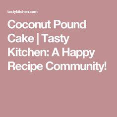 Strawberry and Cream Sponge Cake Coconut Pound Cakes, Caramel Bits, Tasty Kitchen, Those Recipe, Recipe Community, Cake Flour, Sponge Cake, Vegetarian Cheese, Strawberries And Cream