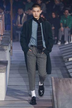 Ami Fall 2018 Menswear Fashion Show Collection