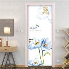 Door Decals – the treasure thrift Interesting Conversation, Door Stickers, Door Wall, Internal Doors, Thrift, Door Handles, Centerpieces, Decals, Bathroom