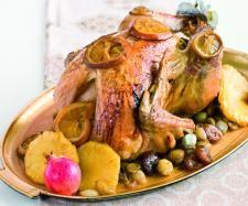 Receita Peru de Natal Recheado por Equipa Bimby - Categoria da receita Pratos principais Carne