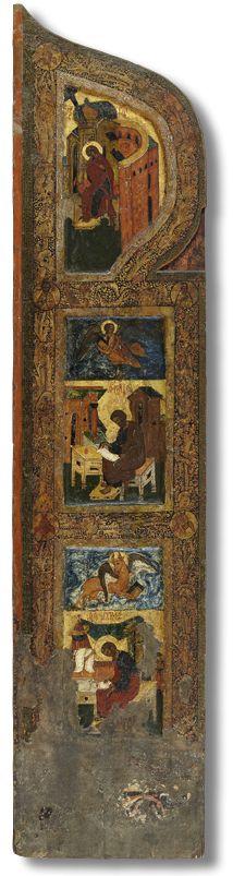 Царские врата (правая створка) Третья четверть XVI века. Псков