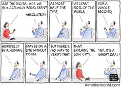 Digital Advertising and Media Transparency cartoon P's Of Marketing, Content Marketing, Internet Marketing, Online Marketing, Digital Marketing, Instagram Advertising, Display Ads, Competitor Analysis, Corporate Brochure