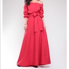 58842e891a5f Beautiful Red Dress Off Shoulder Gown, Off The Shoulder, Cold Shoulder  Dress, Mob