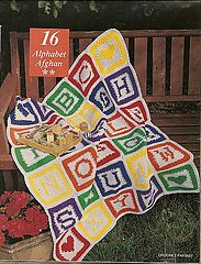 Ravelry: Alphabet Afghan pattern by Becky Greene