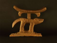 Asante Two Part Animal Stool #14 | Ashanti/Asante Stools | Stools / Chairs — Deco Art Africa - Decorative African Art - Ethnic Tribal Art - ...