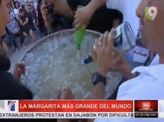 Con 400 Litros De Tequila Prepararon El Coctel Margarita Más Grande Del Mundo #Video