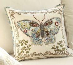 Anna Marie butterfly pillow