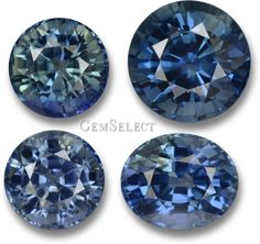 Sometimes imperfections are what make natural things beautiful. Natural, untreated blue sapphires are not always top color, but their lighter color and interesting green hues are still beautiful nonetheless.