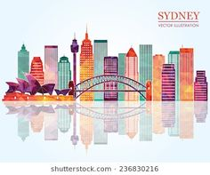 Find Sydney City Skyline Detailed Silhouette Vector stock images in HD and millions of other royalty-free stock photos, illustrations and vectors in the Shutterstock collection. Thousands of new, high-quality pictures added every day. Sydney Skyline, Sydney City, Skyline Silhouette, Silhouette Vector, Tourism Poster, Travel Posters, Vector Stock, New Pictures, Royalty Free Photos