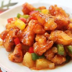 A quick and easy no-fail recipe for any sweet and sour dish - pork, fish, prawns or even tofu - that calls for a sweet and sour sauce. and sour fish recipe chinese food Sweet and Sour Fish + The Best Sweet and Sour Sauce Recipe! Fish Dishes, Seafood Dishes, Seafood Recipes, Cooking Recipes, Dinner Recipes, Whole30 Recipes, Main Dishes, Chicken Recipes, Sweet And Sour Prawns