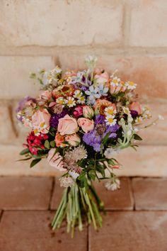 Sommer Hochzeitsstrauß Wiesenblumen Wedding bouquet Vintage