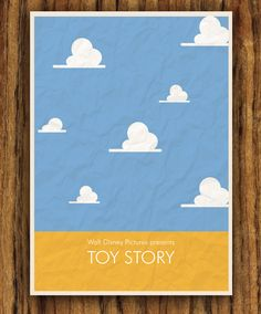 Toy Story Poster by colorpanda on Etsy. $8.00, via Etsy.